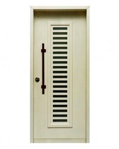 דלת כניסה לבן